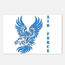 US Air Force Tribal Eagle Postcards (Package of 8)