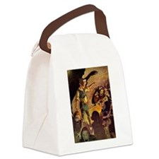Princess the Goblin010.jpg Canvas Lunch Bag