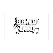 Band Dad Car Magnet 20 x 12