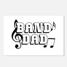 Band Dad Postcards (Package of 8)
