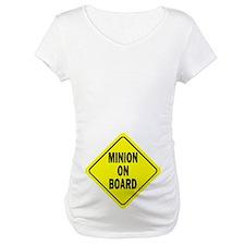 Minion on Board Car Sign Shirt