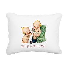 Kewpies028x3 copy.png Rectangular Canvas Pillow