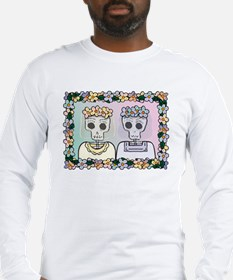 Two Brides - Day of the Dead-Shirt