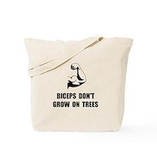 Biceps Trees Tote Bag