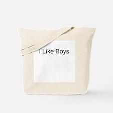 I Like Boys Tote Bag