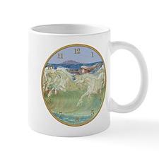 NEPTUNE HORSES CLOCK ONE.png Mug