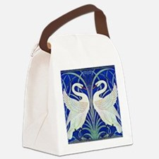 THE SWANS Canvas Lunch Bag