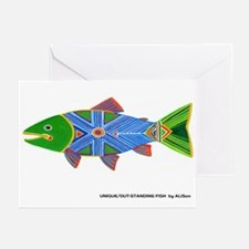 Rainbow Trout Greeting Cards (Pk of 10)