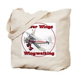 Silver Wings Wingwalking Tote Bag