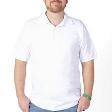 White Irish Heart SHAMROCKS copy.png T-Shirt