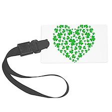 My Irish Heart Kelly SHAMROCKS copy.png Luggage Tag