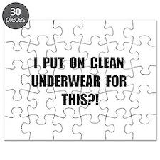 Clean Underwear Puzzle
