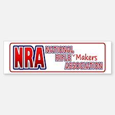 NRA Rifle Makers Assoc Bumper Bumper Bumper Sticker