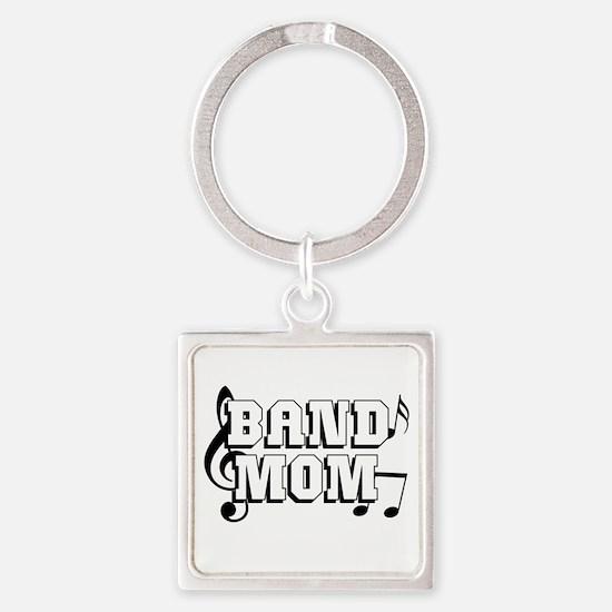 Band Mom Square Keychain