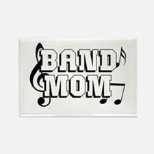 Band Mom Rectangle Magnet