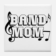 Band Mom Tile Coaster