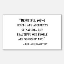 Eleanor Roosevelt Quote Decal