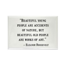 Eleanor Roosevelt Quote Rectangle Magnet (10 pack)