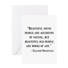 Eleanor Roosevelt Quote Greeting Card