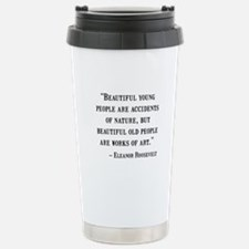 Eleanor Roosevelt Quote Travel Mug