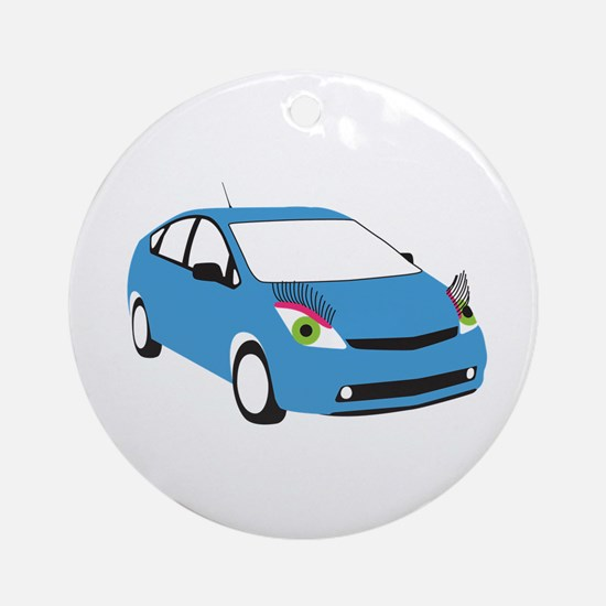 Tranny Prius Ornament (Round)