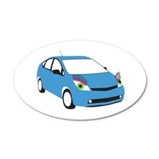 Tranny Prius Wall Decal
