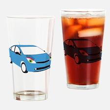 Tranny Prius Drinking Glass