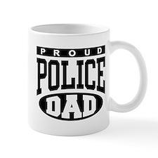 Proud Police Dad Mug