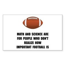 Football Important Decal