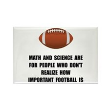 Football Important Rectangle Magnet (10 pack)