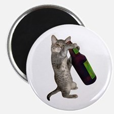 Cat Beer Magnet