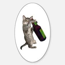 Cat Beer Decal