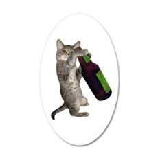 Cat Beer Wall Decal
