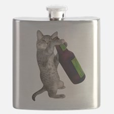 Cat Beer Flask