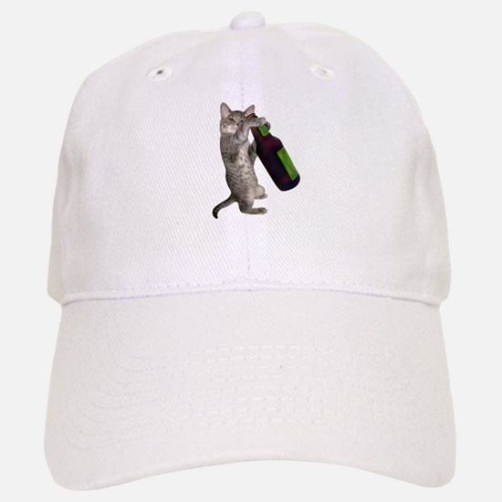 Cat Beer Baseball Baseball Cap