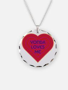 Vonda Loves Me Necklace
