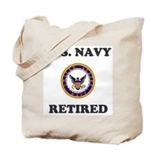 Retired Navy Tote Bag