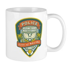 The Big Lebowski Malibu Police Small Mug