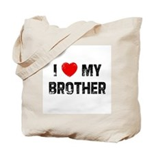 I * My Brother Tote Bag
