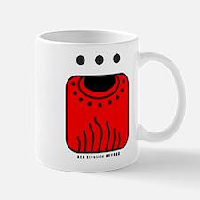 RED Electric DRAGON Mug