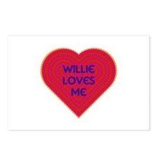 Willie Loves Me Postcards (Package of 8)