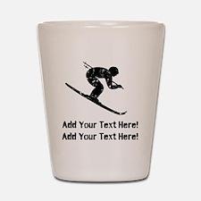 Personalize It, Skier Shot Glass