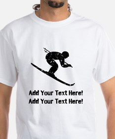 Personalize It, Skier T-Shirt
