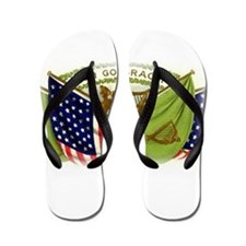 Erin Go Bragh Irish Flags Flip Flops