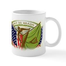 Erin Go Bragh Irish Flags Mug