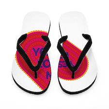 Yesenia Loves Me Flip Flops