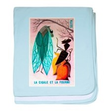 The Cicada and The Ant Matchbox French Label baby