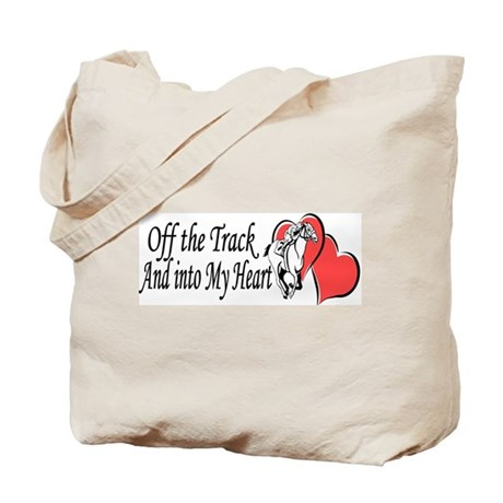 Off The Track LOVE Tote Bag