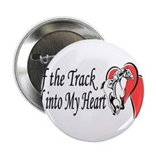 """Off The Track LOVE 2.25"""" Button"""