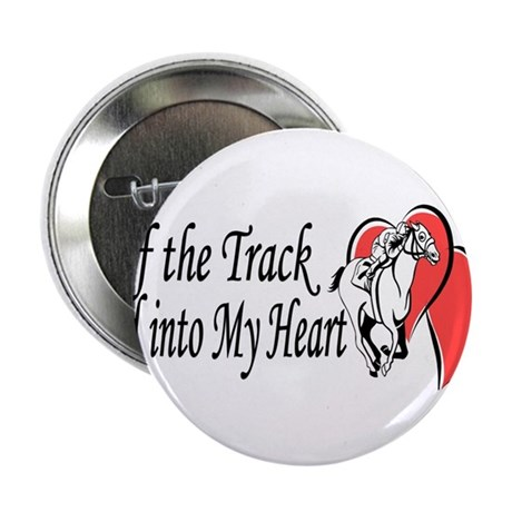 "Off The Track LOVE 2.25"" Button"